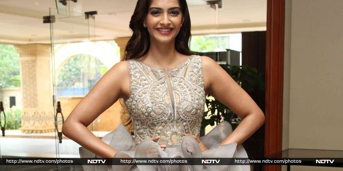 Sonam Kapoor Was Khoobsurat in Gold and Silver