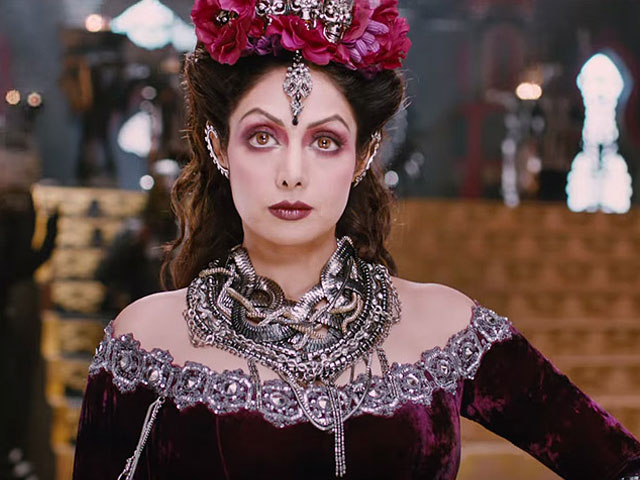 Veteran actress Sridevi, who plays an evil queen in upcoming Tamil fantasy drama Puli