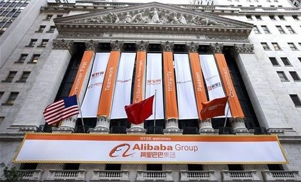 "Returned Alibaba site on ""infamous"" fakes show: US Group"