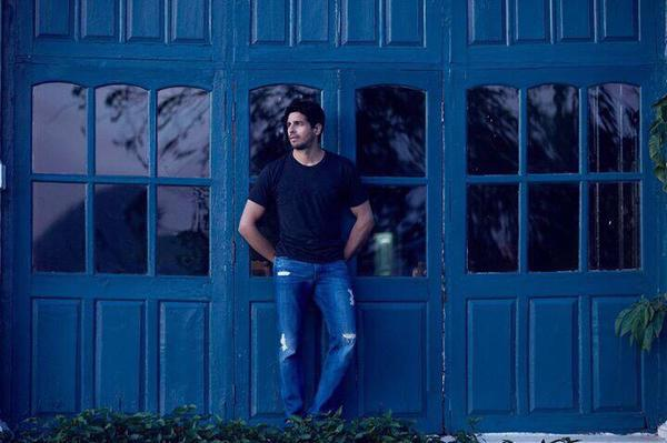 Sidharth Malhotra sets aside time off to posture for a photoshoot