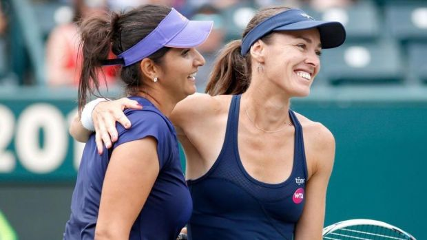 Sania Mirza-Martina Hingis enter China Open duplicates semis