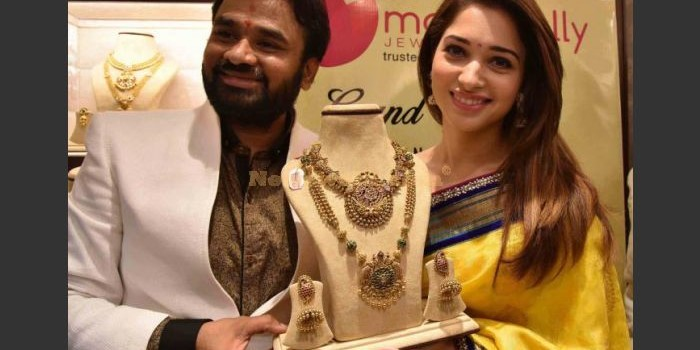Tamannaah inaugurate a jewellery store in Hyderabad