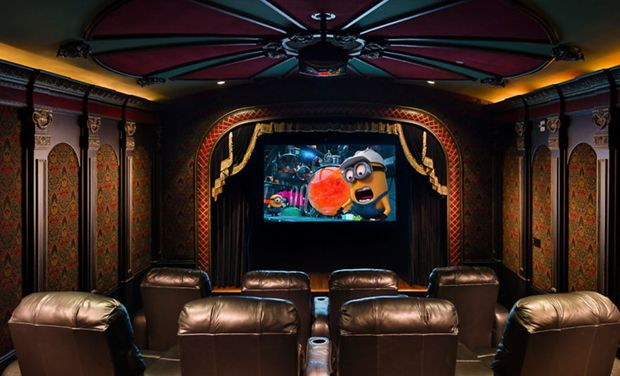 The most amazing home movie theaters you have ever seen