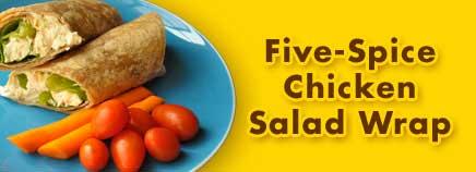 Five-Spice Chicken Salad Wrap