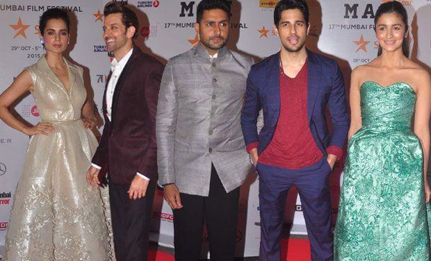 Kangana, Hrithik, Abhishek, Sidharth, Alia and numerous more A-listers go to MAMI Festival