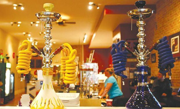 No scent after hookah leaves family oblivious