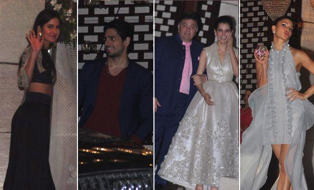 Katrina, Aditya, Sidharth and numerous more at Nita Ambani's bash