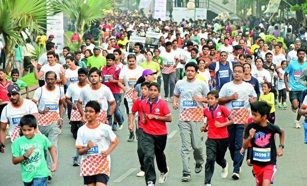 Glitch run: Hyderabad 10K run