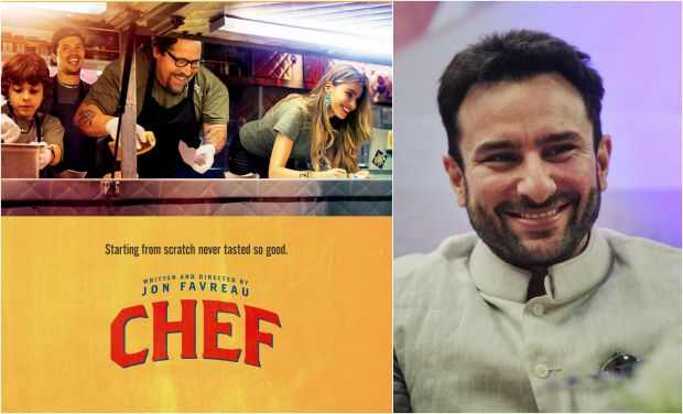 "Saif Ali Khan to star in Indian adjustment of Hollywood film ""Gourmet expert"""