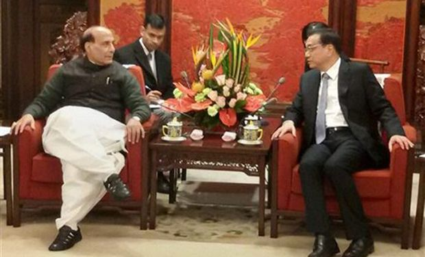 Rajnath Singh passes on India's worries over fringe invasions to China