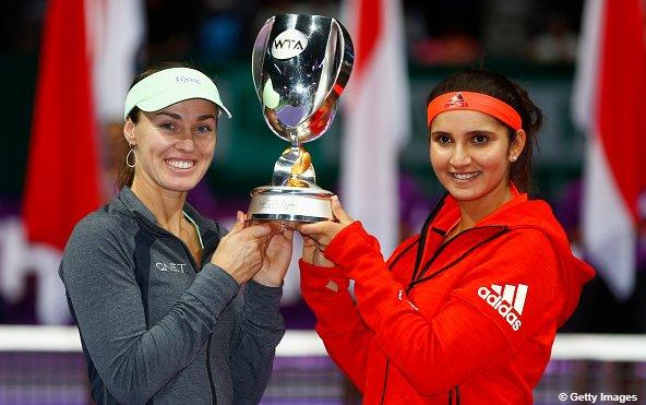WTA Finals: Sania Mirza, Martina Hingis bag ninth title of the year