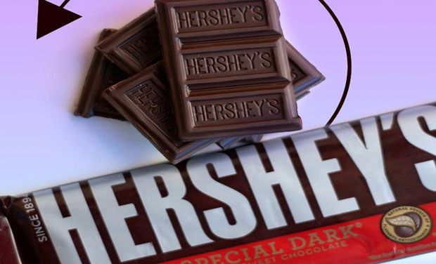 Hershey kisses artificial flavours goodbye in some chocolates