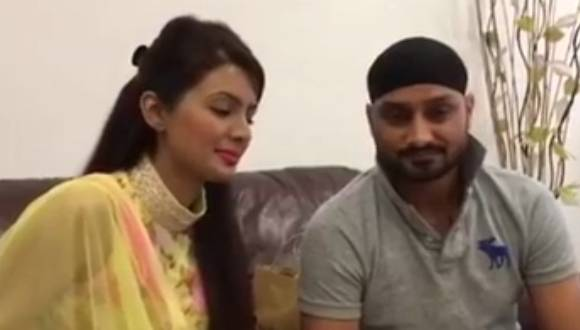 Recently marry Harbhajan Singh and Geeta Basra's extraordinary message for their fans