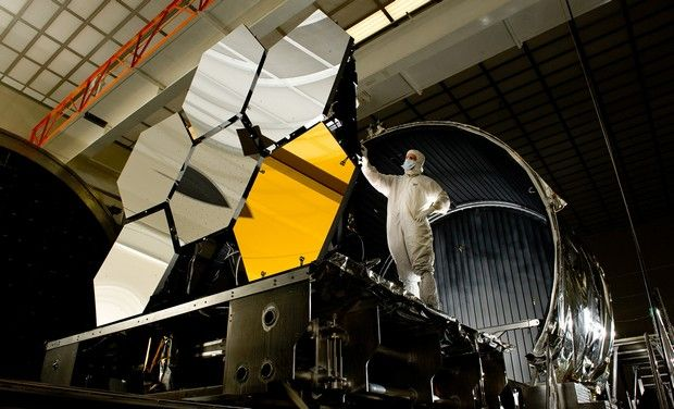 To start with mirror introduced on NASA's James Webb Telescope