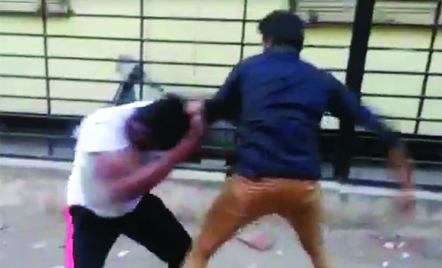 Relatives fight over harassment of girl