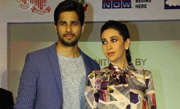 Karisma Kapoor vapor over Sidharth Malhotra's starry state of mind