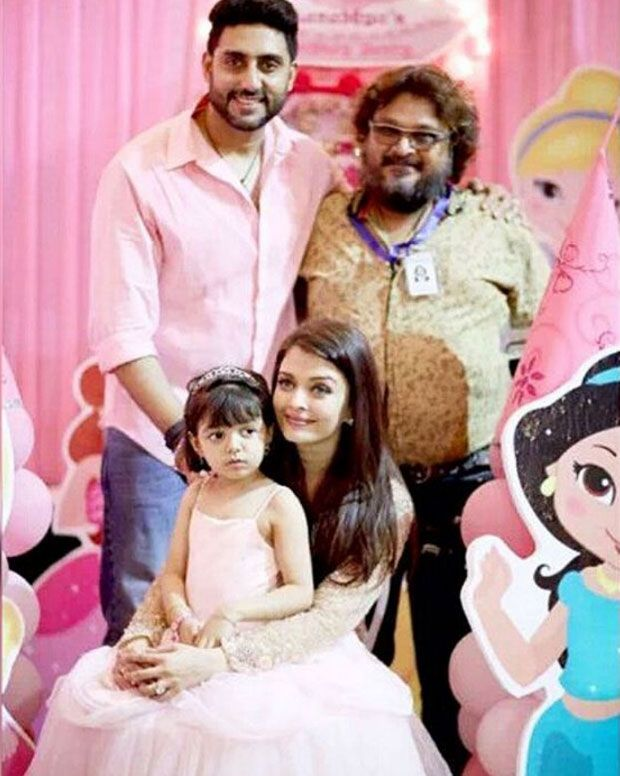 Abhishek and Aishwarya go full scale to make Aaradhya feel like a princess on fourth b'day