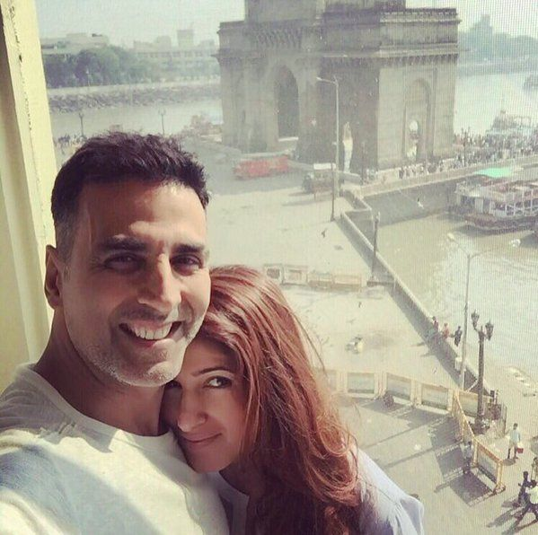 Akshay Kumar and Twinkle's extemporaneous staycation