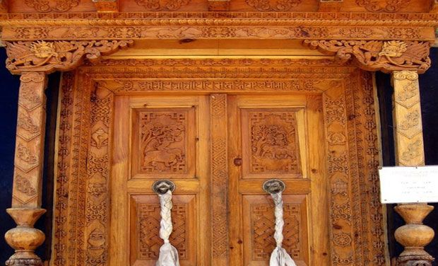 Beautiful doorways that reflect India's rich cultural heritage