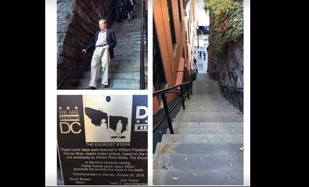 The exorcist steps made authority vacation destination