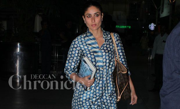 Kareena Kapoor returns home after a special occasion in Kolkata