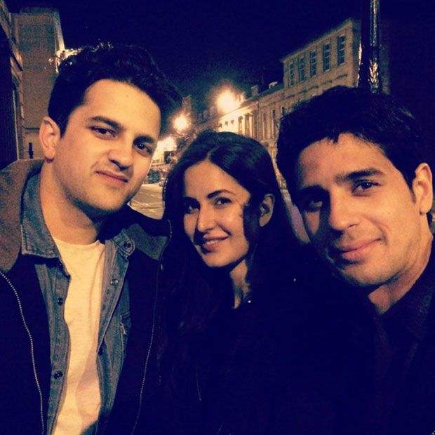 Katrina Kaif and Sidharth Malhotra snapped on the arrangements of 'Baar Dekho'
