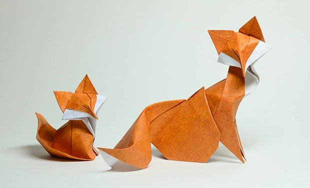 Stunning works of origami art