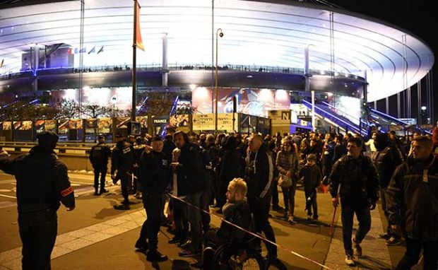 Concert hall, National Stadium among six places targeted in Paris