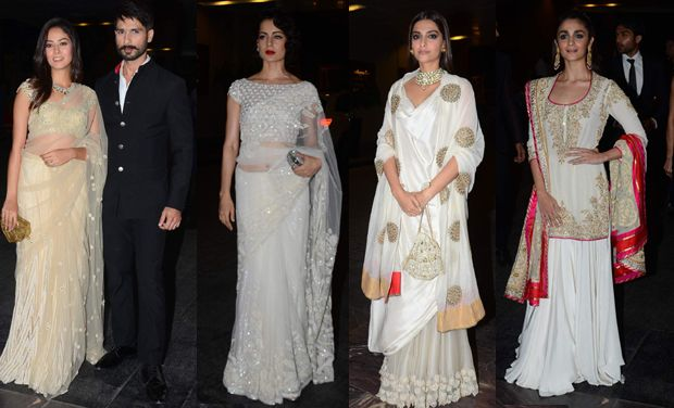 Shahid-Mira, Sonam, Kangana, Alia and others at Masaba-Madhu's wedding reception