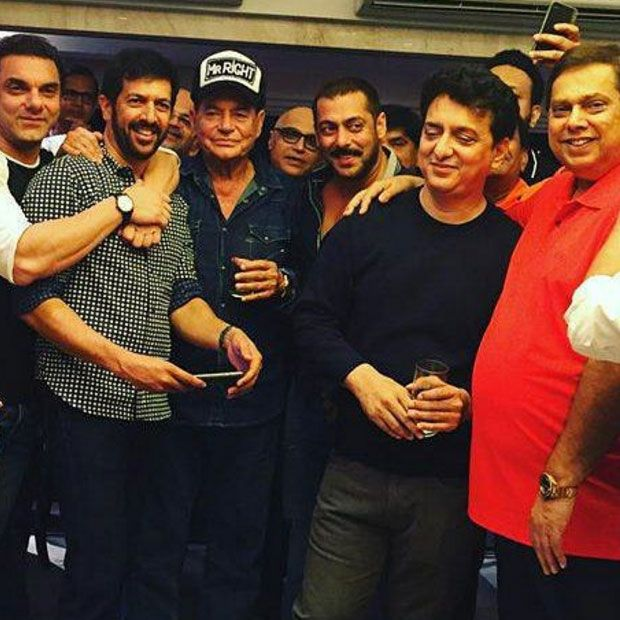 Watch: Salman Khan has birthday gathering for Salim Khan