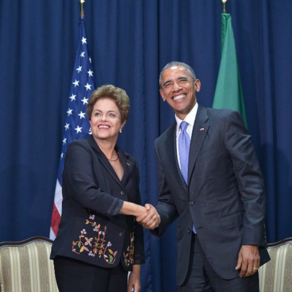 Barack Obama contacts Dilma Rousseff for participation on atmosphere talks