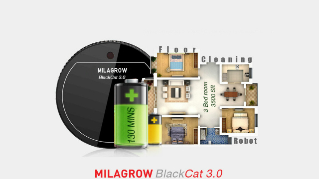 Milagrow Launches BlackCat 3.0 Floor Cleaning Robot