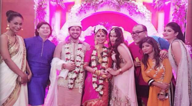 Rahul Mahajan's ex Dimpy Ganguly gets married