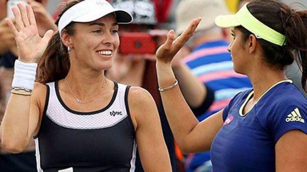 Sania Mirza, Martina Hingis group named 2015 World Champions by ITF