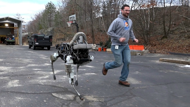 US marines reject Google's robo-dogs for making too much noise