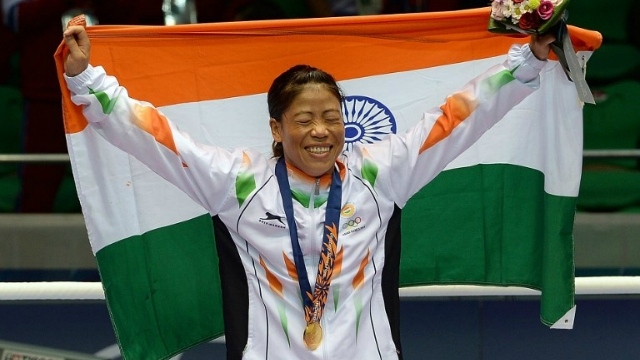 Mary Kom, L Sarita Devi, Pooja Rani all strike gold at South Asian Games