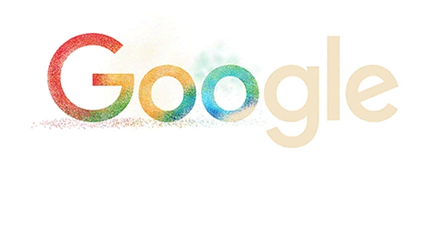 Google doodle is celebrating Holi with bursts of colours!