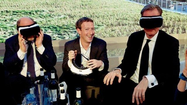 Mark Zuckerberg Live streams unboxing of the Oculus Rift