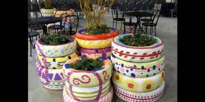 ideas to give old tires a new life
