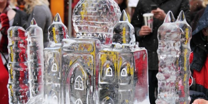 HOW DO THEY MAKE IT: Ice sculpture
