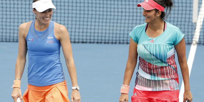 Sania Mirza, Martina Hingis enter Stuttgart Open doubles final