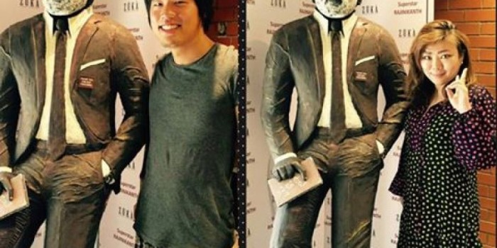 Chennai cafe makes six-foot tall chocolate statue of superstar Rajinikanth