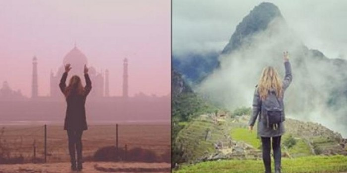 Watch: Woman travels to see wonders of the world in 13 days after cancer diagnosis
