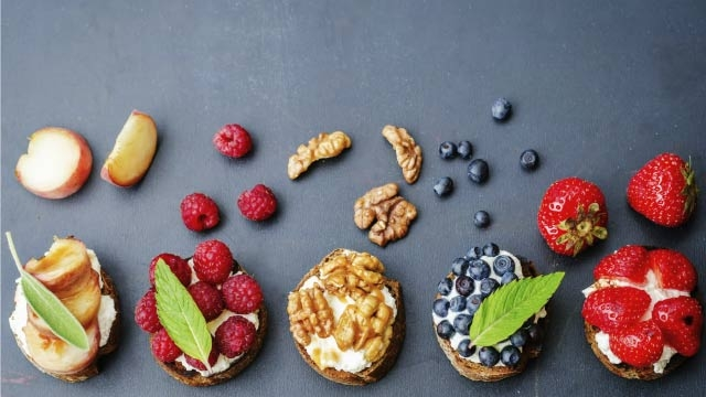 Sweet treats for a healthier diet