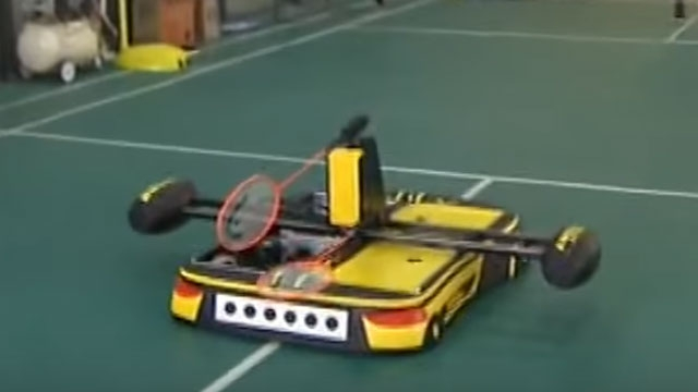 And now, a robot that can play badminton