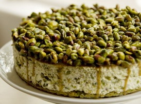 Ramdan Special – Pistachio and rosewater layer cake