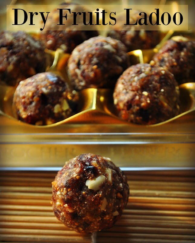 Ramdan Special – Dates and nuts ladoo recipe, make dates and nuts ladoo in 15 minutes