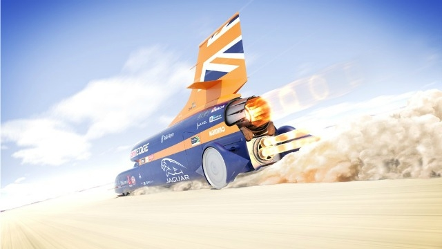 Bloodhound car sets sights on 2017 for land speed record attempt
