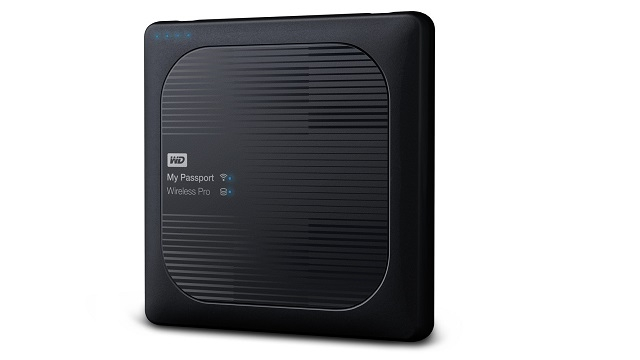 High tech hits the road with a 2TB portable wireless hard drive