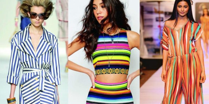 Fashion trend: Stripe tease!